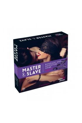 Master  Slave Purple Premium - KIT BDSM
