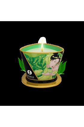 Bougie de massage lueur  caresses - Thé vert exotique